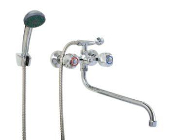 Смеситель для ванной ПрофСан ПСМ 157-ЕК/75