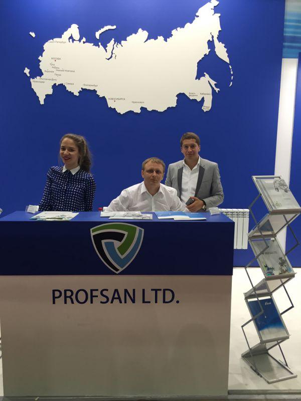 Итоги выставки смесителей Профсан ПСМ на Aqua-Therm Moscow 2015