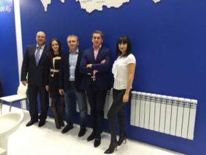 Представители Профсан на выставке Aqua-Therm Moscow 2015