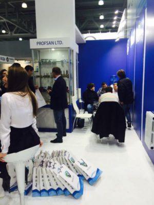 Стенд Профсан ПСМ на выставке Aqua-Therm Moscow 2015