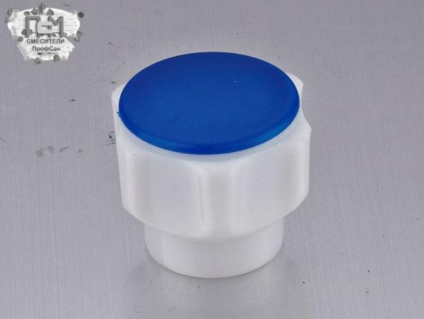 Маховик Пластиковый белый низ для смесителя Профсан Арт. 77