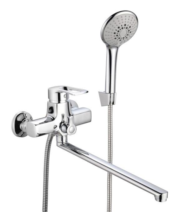 Смеситель для ванны с душем ПРОФСАН ПСМ-777-017 МОДЕРН