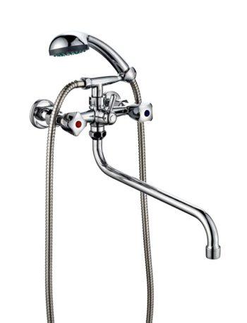 Двухвентильный ванно-душевой смеситель ПСМ ПрофСан 156-К/03