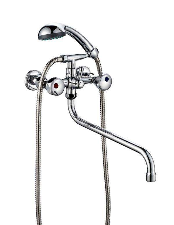 Ванно-душевой двухвентильный смеситель ПСМ ПрофСан 157-K/04