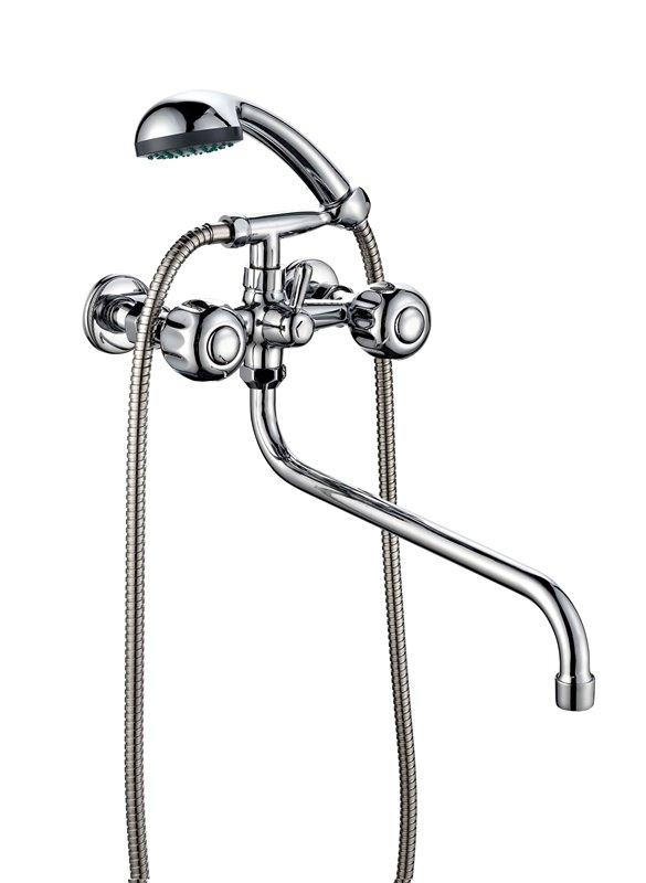 Смеситель ванно-душевой двухвентильный ПСМ ПрофСан 157-К/30