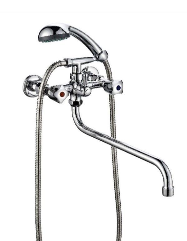 Двухвентильный смеситель для ванны и душа ПСМ ПрофСан 165-K/03