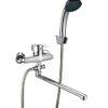 Кнопочный смеситель для ванной Профсан ПСМ 521-К/023