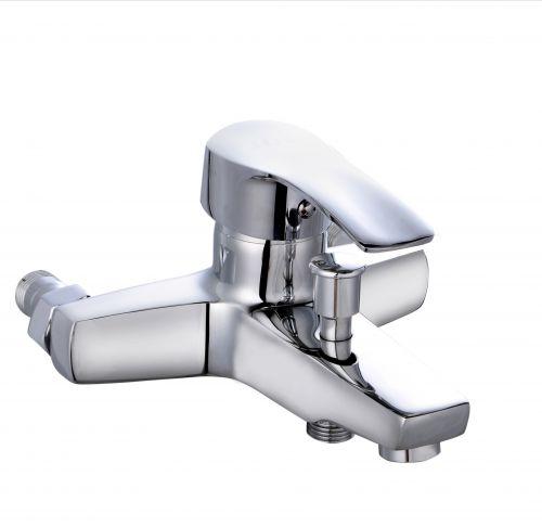 Смеситель для ванной в коротким изливом Профсан ПСМ 815