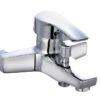 Короткий смеситель для ванной с душем Профсан ПСМ 815 КТ/023