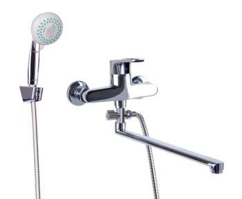 Смеситель для ванной с душем Профсан ПСМ-523-ЕКТ/084 (монокомандный)