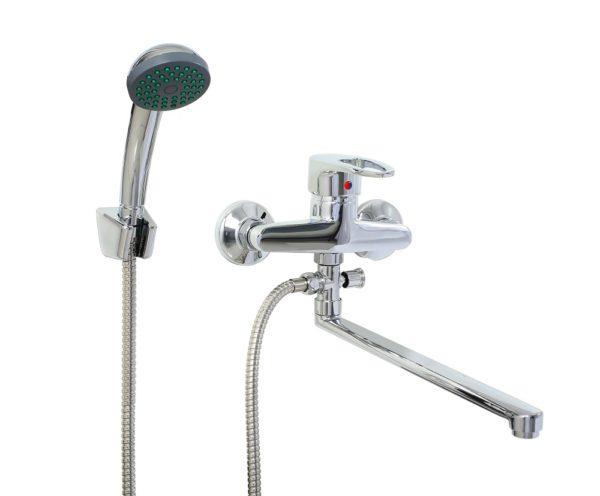 Смеситель для ванны с душем Профсан ПСМ 521-ЕКТ/084
