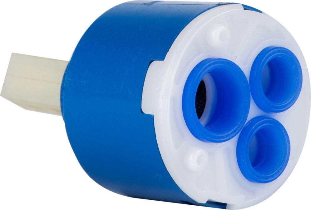 Картридж для смесителя 40 мм в положении лежа