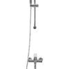 Смеситель для ванной со стойкой Профсан ПСМ 100-2 общий вид
