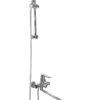 Смеситель для ванной со стойкой Профсан ПСМ 100-2 общий вид сбоку