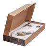Смеситель для кухни боковая ручка СТАЛЬ ПСМ-300-3 STEEL в открытой коробке