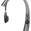 Выдвижной излив смесителя для кухни с боковой ручкой СТАЛЬ ПСМ-300-9 STEEL