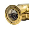 Корпус смесителя для раковины с боковой ручкой Профсан ЗОЛОТО ПСМ-303-3 STEEL GOLD крупным планом