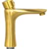 Смеситель для раковины Профсан ЗОЛОТО ПСМ-303-5 STEEL GOLD вид сбоку