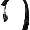Выдвижной излив смесителя для кухни ПРОФСАН ПСМ-301-9 STEEL BLACK нерж. сталь вид сбоку