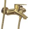 Корпус смесителя для ванной с коротким изливом Профсан ЗОЛОТО ПСМ-303-1 STEEL GOLD вид сбоку