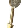 Лейка смесителя для ванной с коротким изливом Профсан ЗОЛОТО ПСМ-303-1 STEEL GOLD вид сбоку