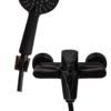 Корпус и лейка смесителя для ванны с душем ПРОФСАН ПСМ-301-1 STEEL BLACK нерж. сталь черный-бронза