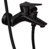 Корпус смесителя для ванны с душем ПРОФСАН ПСМ-301-1 STEEL BLACK нерж. сталь черный-бронза вид сбоку
