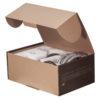 Смеситель для ванны короткий нос СТАЛЬ ПСМ-300-1 STEEL в открытой коробке