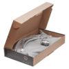 Смеситель для кухни ПРОФСАН ПСМ-300-11 STEEL с подключением фильтра в открытой коробке