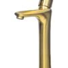 Смеситель для раковины высокий ПРОФСАН ПСМ-303-6 STEEL GOLD